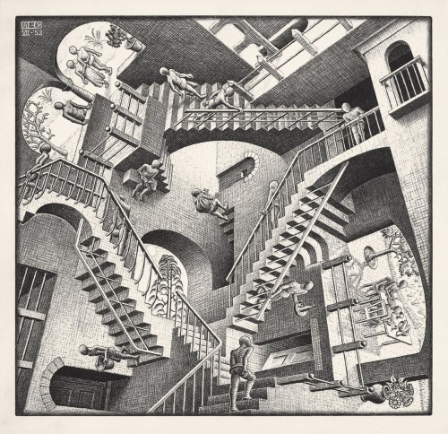 389 Relativity 1953 Lithographm
