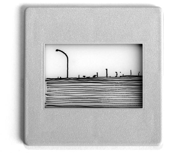 LUCA-PANCRAZZI-Paesaggio-fuori-scala-1996-china-su-carta-da-lucidi-e-cornice-di-plastica_small