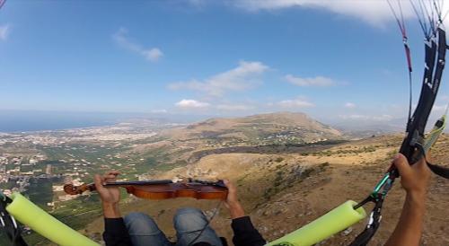 """Alessandro Librio, """"Balarm"""" Monte Grifone (Palermo) 15 agosto 2012, still da video"""