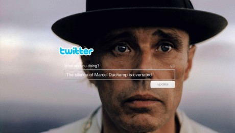 Mark McEvoy, The silence of Marcel Duchamp is overrated, digital print, 2014 (420 x 280mm)