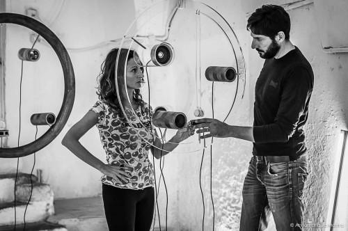 Tamara Repetto, Raffaele Quida. Foto di Annamaria La Mastra