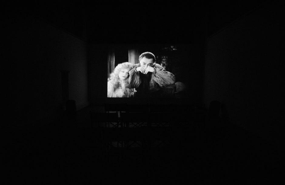 6_IMPRESSION--17.09.2012-.(Study-for-The-Man-Who-Laughs-,-Paul-Leni-1929-)-,-installation-view,-Casa-Masaccio,-San-Giovanni-Valdarno-small