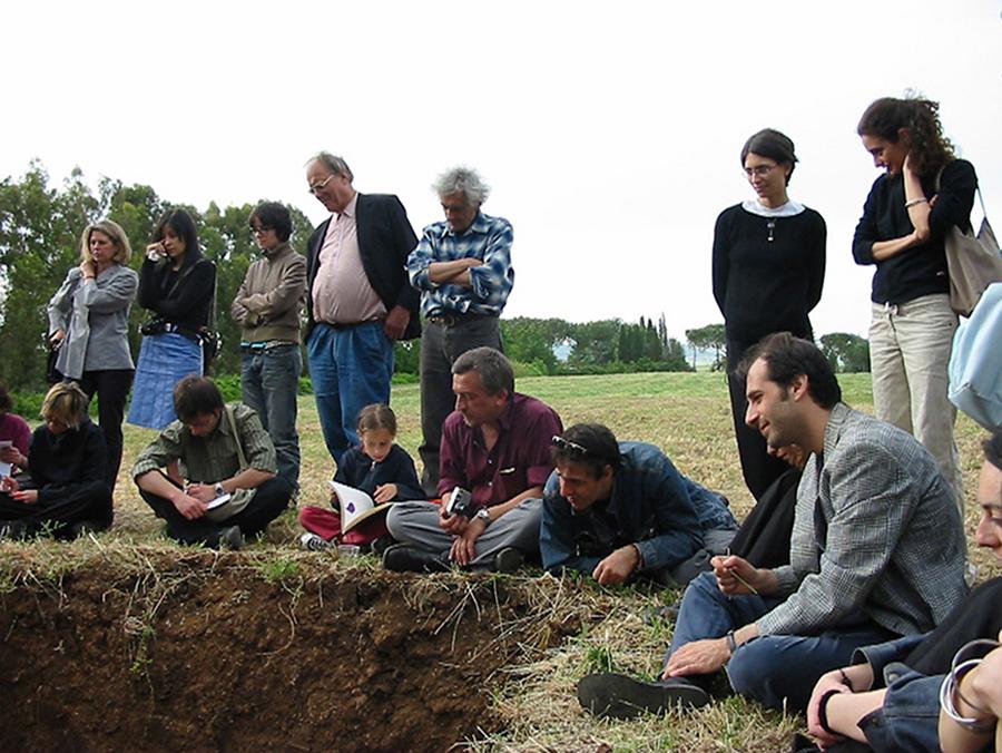 L'Ameno Appena in tempo – Fondazione Baruchello 2003, Roma.