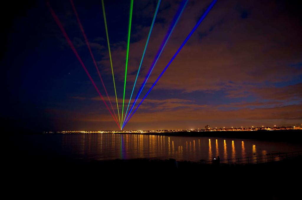 US Artist Yvette Mattern's Global Rainbow On Show In Gateshead