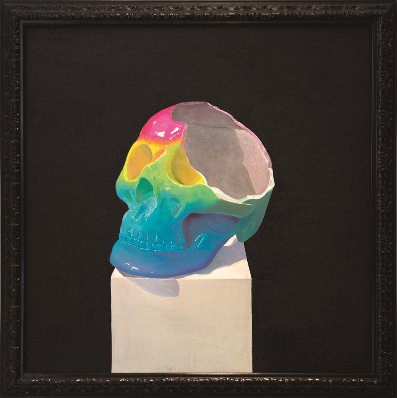 Rainbow oil on canvas 120cmx120cm 2012