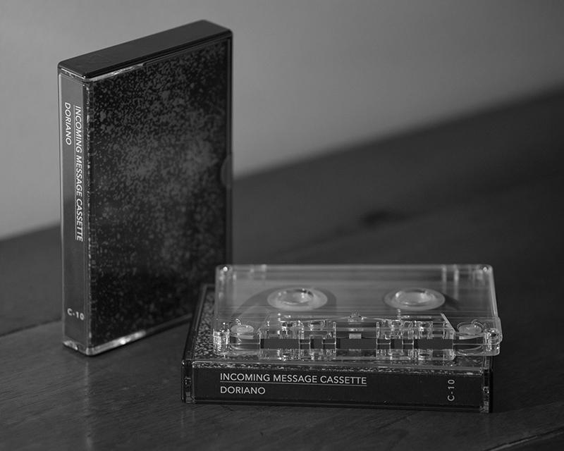federico lupo. incoming message cassette. doriano (photo @ Noemi La Pera)