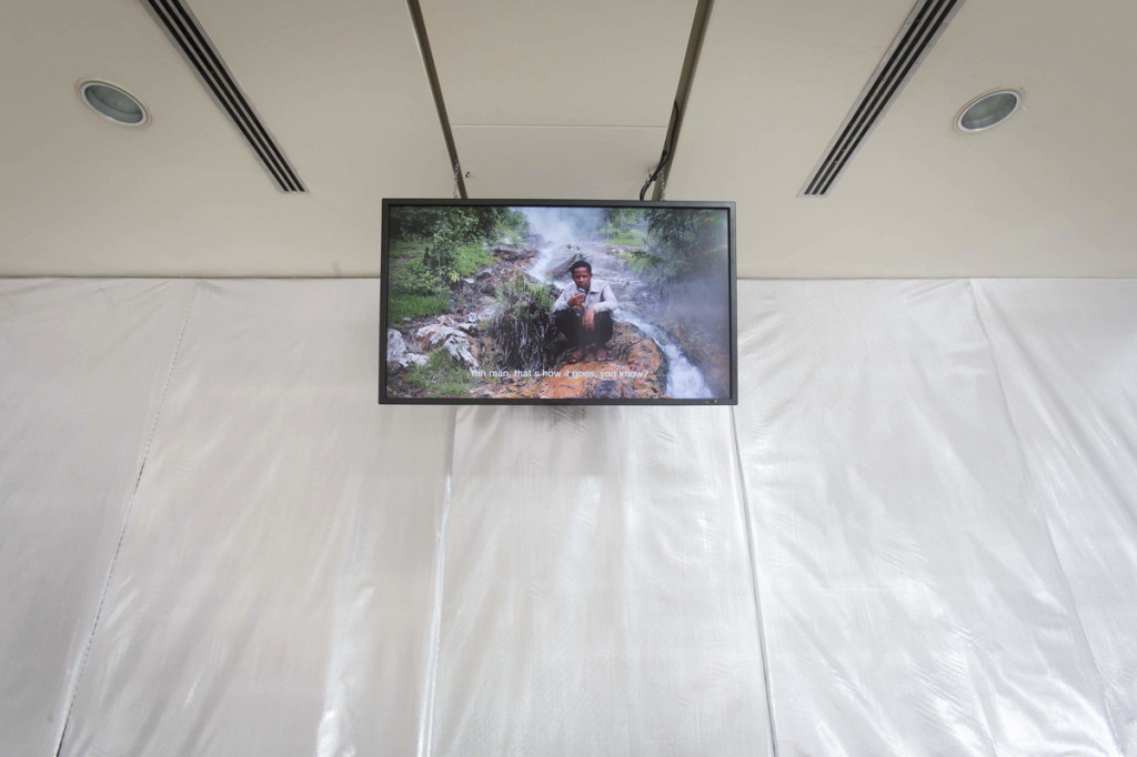 3.Invernomuto, Wondo Genet, AuditoriumArte, Roma, 2015. Dettaglio del video_Ph. Musacchio & Ianniello