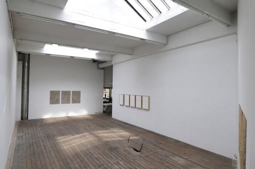 Dans le désordre du paysage, 2015, solo show, Canal 05, Bruxelles, exhibition view