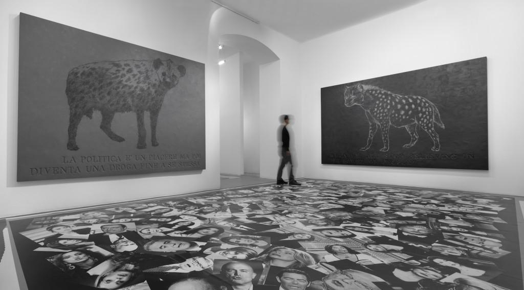 H.HLim-Galleria-Bianconi-_Politicamente-Parlando_-2014-Installation-View