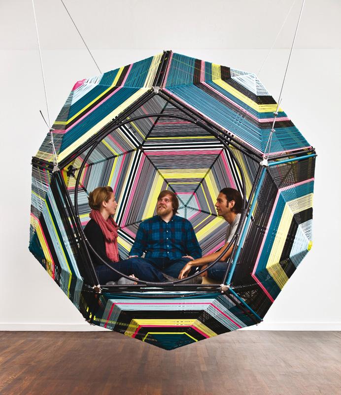 MAXXI_TRASFORMERS_PedroReyes Capula Dodecahedron@Fredrik Nilsen
