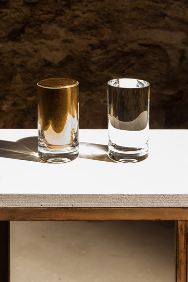 CILDO MEIRELES Aquaurum 2014-2015, 2 glasses