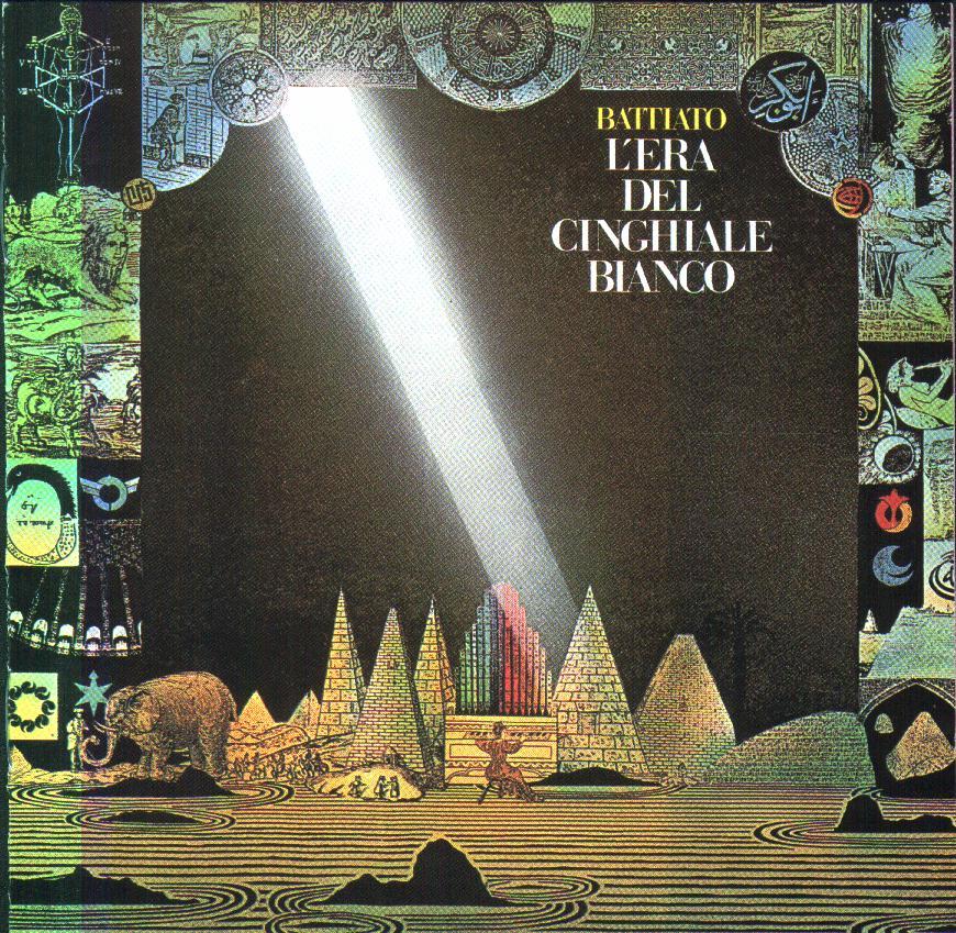 BATTIATO // L'ERA DEL CINGHIALE BIANCO (1979) cover art: Francesco Messina