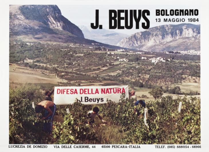 J Beuys. Difesa Della Natura 1984 by Joseph Beuys 1921-1986