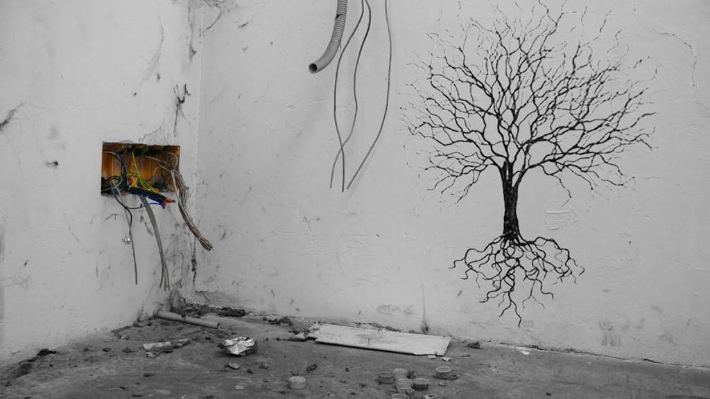 Daniele Girardi - Natural industry - 2012 - Intervento site-specific - Courtesy dell'artista