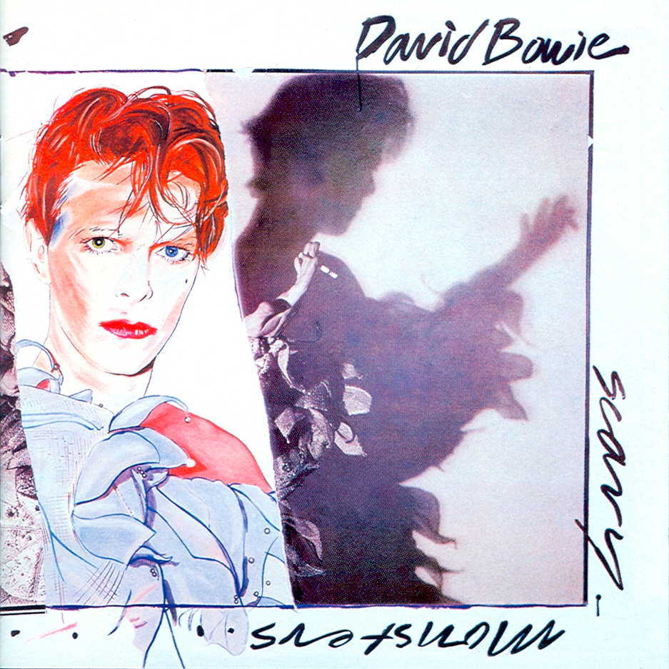 DAVID BOWIE // SCARY MONSTERS (1980) Cover art: Edward Bell, Cover Concept: Brian Duffy, David Bowie