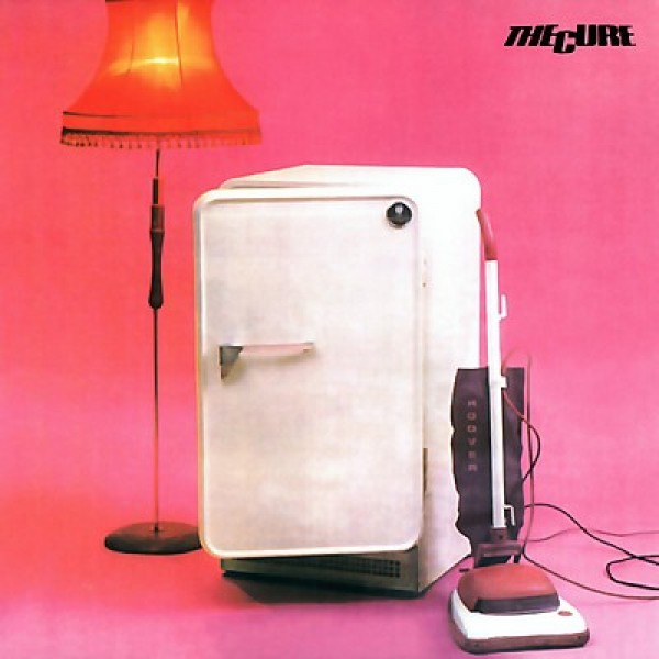 THE CURE // THREE IMAGINARY BOYS (1979) photography / sleeve design: Martyn Goddard, Bill Smith