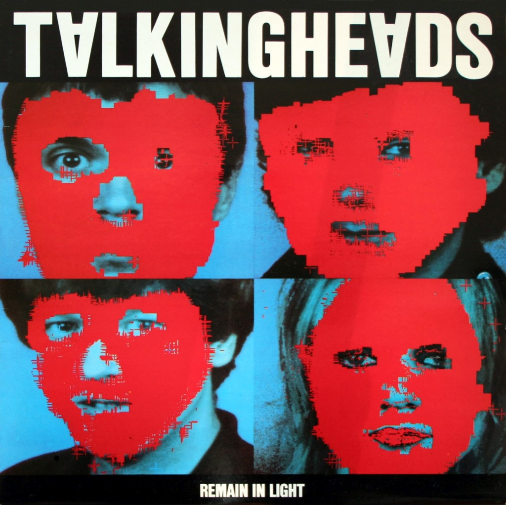TALKING HEADS // REMAIN IN LIGHT (1980) Artwork (computer images) Massachusetts Institute of Technology's & M&Co. (designing company), HCL, JPT, DDD, WALTER GP, PAUL, C/T (Chris Frantz/Tina Weymouth).