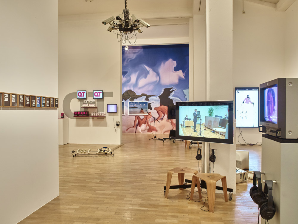 Image 6 Whitechapel Gallery. Electronic Superhighway 2016 - 1966 Installation view Gallery 1 (6)