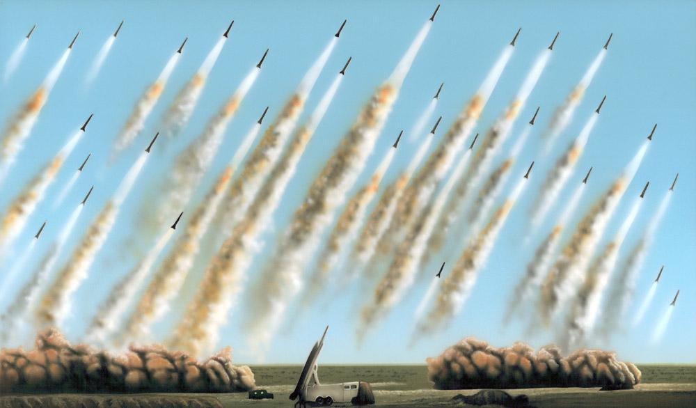 Oliver Laric, Versions (Missile Variations), 2010
