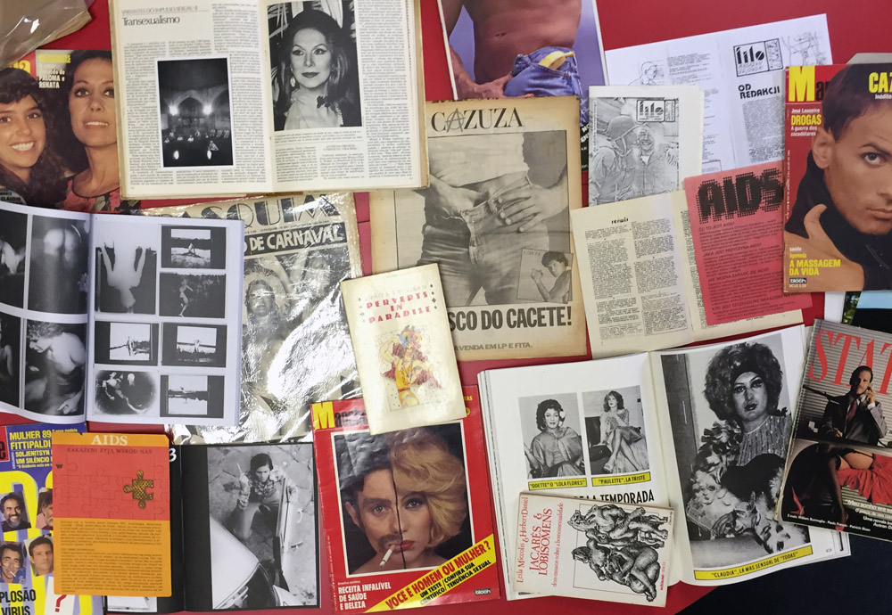_Queer Archives Institute research materials