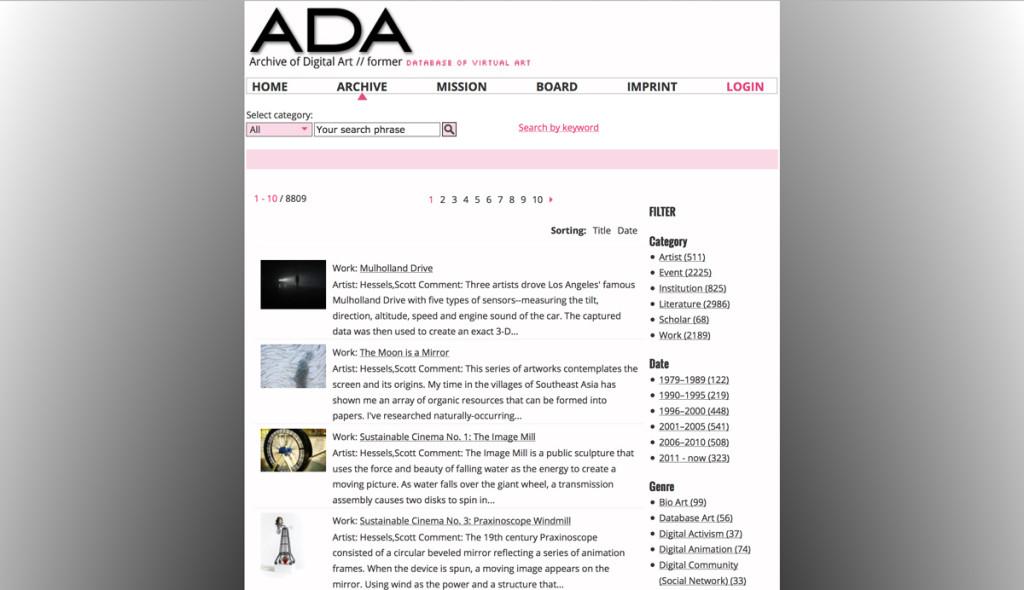 Ada-archivio
