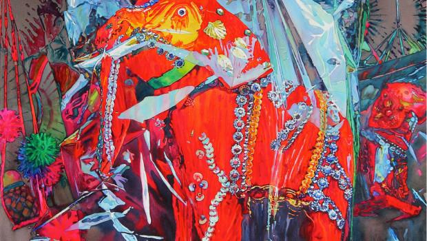 Aung-Sint,-Lucky-souvenir-gift,-acquerello,-76x91-cm.,-2014-cover
