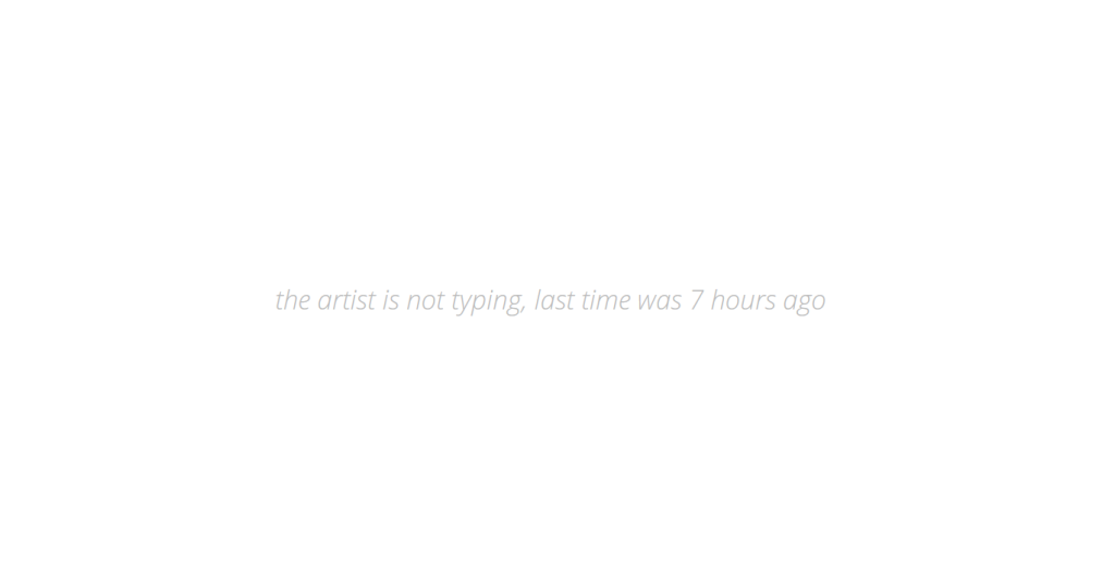 the-artist-is-not-typing