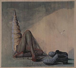 ) Sergio Vacchi, «Capricci», 1972