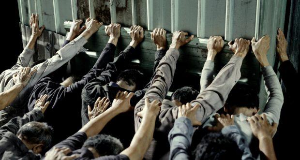 (7) CHEN CHIEN-JEN, «People Pushing», 2007-2008, Courtesy CHEN CHIEN-JEN Studio