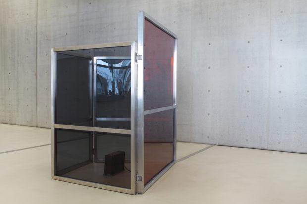 Elisabetta Benassi, «The Bullet-Proof Angela Davis», 2011, exhibition view at MAXXI, photo Cecilia Fiorenza