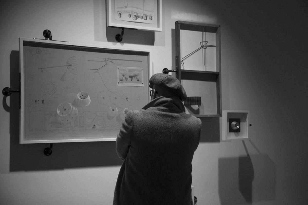 Alessandro Brighetti, De Rerum Sculptura, 2017, exhibition view at the Gaba.Mc – Galleria dell'Accademia di Belle Arti di Macerata, photo: Lele Bayo