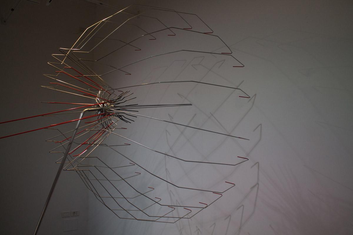 Alessandro Brighetti, De Rerum Sculptura, 2017, exhibition view at the Gaba.Mc – Galleria dell'Accademia di Belle Arti di Macerata, photo: Sonia Petrocelli