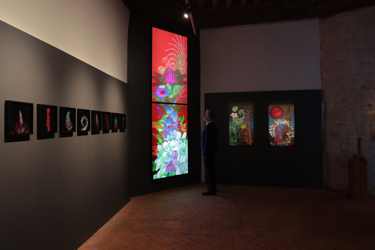 Miguel Chevalier And The World Of Pixels Arshake